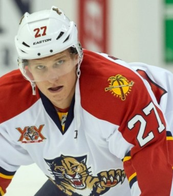 Nick Bjugstad, Florida Panthers, NHL, Hockey