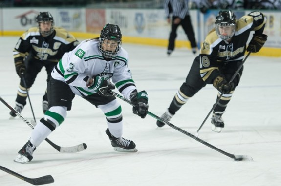 UND forward Michelle Karvinen, (Eric Classen/ UND Athletics)