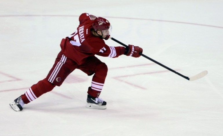 Vrbata Excited to Be Back in Arizona