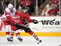 Teuvo Teravainen is expected to join the Blackhawks before the playoffs. (Rob Grabowski-USA TODAY Sports)