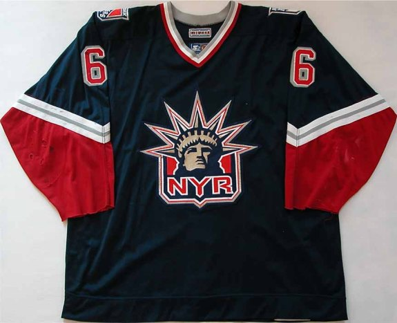 New York Rangers Third Jersey