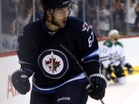 Michael Frolik, along with Mark Scheifele and Mathieu Perreault have been a force to be reckoned with for the Winnipeg Jets as they have been providing consisten offense for their team during the month of December. (Bruce Fedyck-USA TODAY Sports)