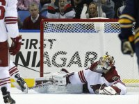Coyotes Goalie, Mike Smith
