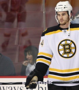 Adam McQuaid [Photo by Bob Fina/Inside Hockey]