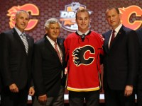 Sam Bennett was the fourth overall pick in 2014, but it's too early to tell how he'll turn out. (Bill Streicher-USA TODAY Sports)