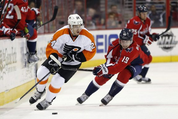 Are the Caps threatening the Flyers? Washington's revamped defense will look to contain Matt Read, who notched 5 points in last year's season series.