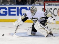 Marc-Andre Fleury, at 30, has already made his mark in a Penguins uniform(Adam Hunger-USA TODAY Sports)