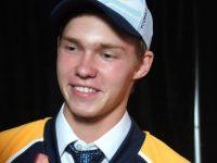 Vladislav Kamenev at the 2014 NHL Entry Draft - Photo: Sarah Fuqua