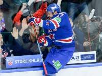 Ilya Kovalchuk celebrates his goal against CSKA Moscow