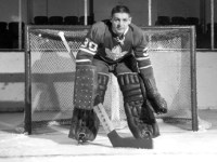 Terry Sawchuk won't accept Vezina Trophy if Johnny Bower's name is not included.