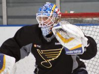 Masked Men: Blues' Tandem Shining Brightly