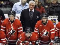 Pat Quinn at the World Junior Championships