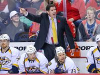 Peter Laviolette has changed the focus in Nashville - for the better. (Sergei Belski-USA TODAY Sports)