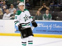 Brett Ritchie is a sparsely-owned forward who could make an impact on the Stars' lineup as he plays beside Jamie Benn and Tyler Seguin. (Michael Connell/Texas Stars Hockey)
