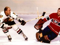 Bobby Hull vs Gump Worsley