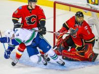 The Flames and Canucks have had a heated series thus far. (Sergei Belski - USA Today)
