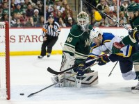 Backes scored in Game 4 against the Wild (Brace Hemmelgarn-USA TODAY Sports)