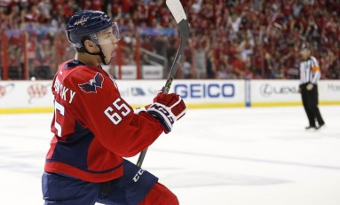 Andre Burakovsky and Mattias Ekhom Head to Russia
