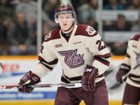 Matt Spencer of the Peterborough Petes [photo: OHL Images]