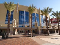 The City of Glendale terminated the lease agreement for Gila River Arena with the Coyotes (Wikipedia)