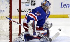 Lundqvist and Raanta Carrying Rangers in October