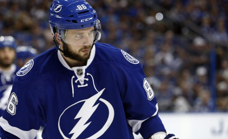 Lightning's Kucherov Won't Report to Camp Without a Contract, Canadiens' Shaw Suspended & More
