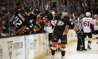 Ducks Sign Jacob Larsson to Three-Year Contract