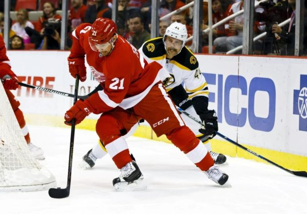 The Grind Line: Detroit Red Wings Standout Player of the Month
