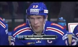 Pavel Datsyuk Scores First KHL Goal