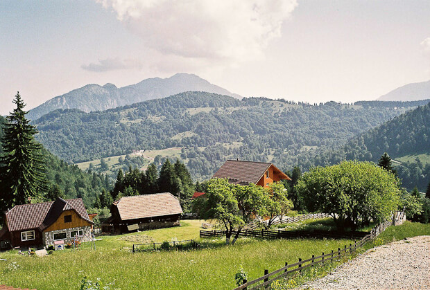 The Carpathian Mountains of Romania
