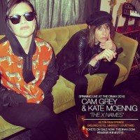 KATE MOENNIG & CAMILA GREY  aka The X NAMES  BRING THEIR 'A' GAME & TURNTABLES  TO THE DINAH 2016