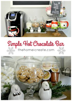 Small Of Hot Chocolate Bar