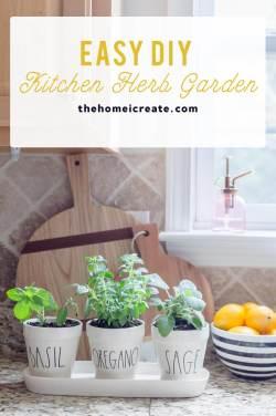 Small Of Easy Herb Garden Ideas