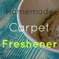 Easy Homemade Carpet Freshener With Baking Soda