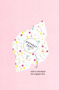 print off this birthday party envelope kit