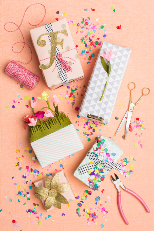 5 gift wrapping ideas for spring