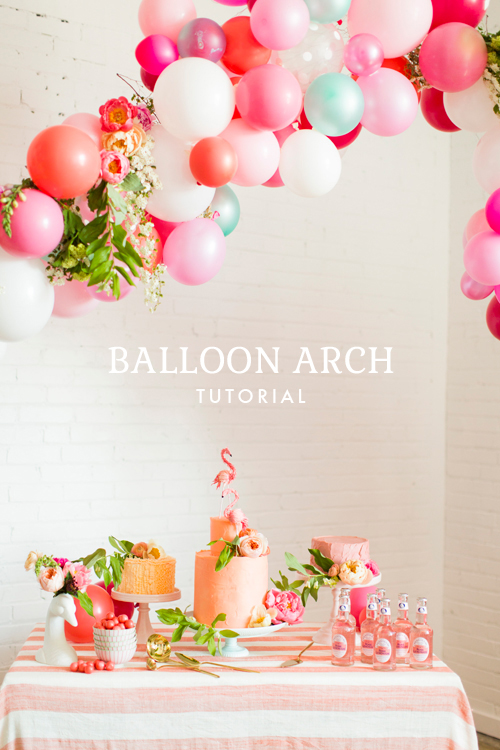 How Many Balloons For a Balloon Arch How to Make a Balloon Arch