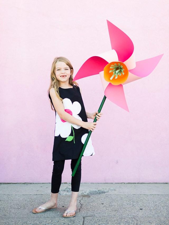 diy flower pinwheels 2