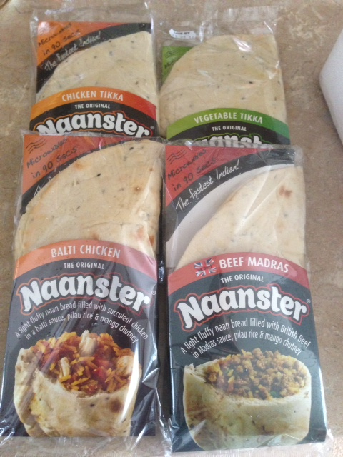 Naanster - Curry on the go!