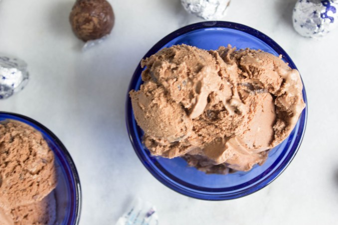 Baci Chocolate Hazelnut Ice Cream