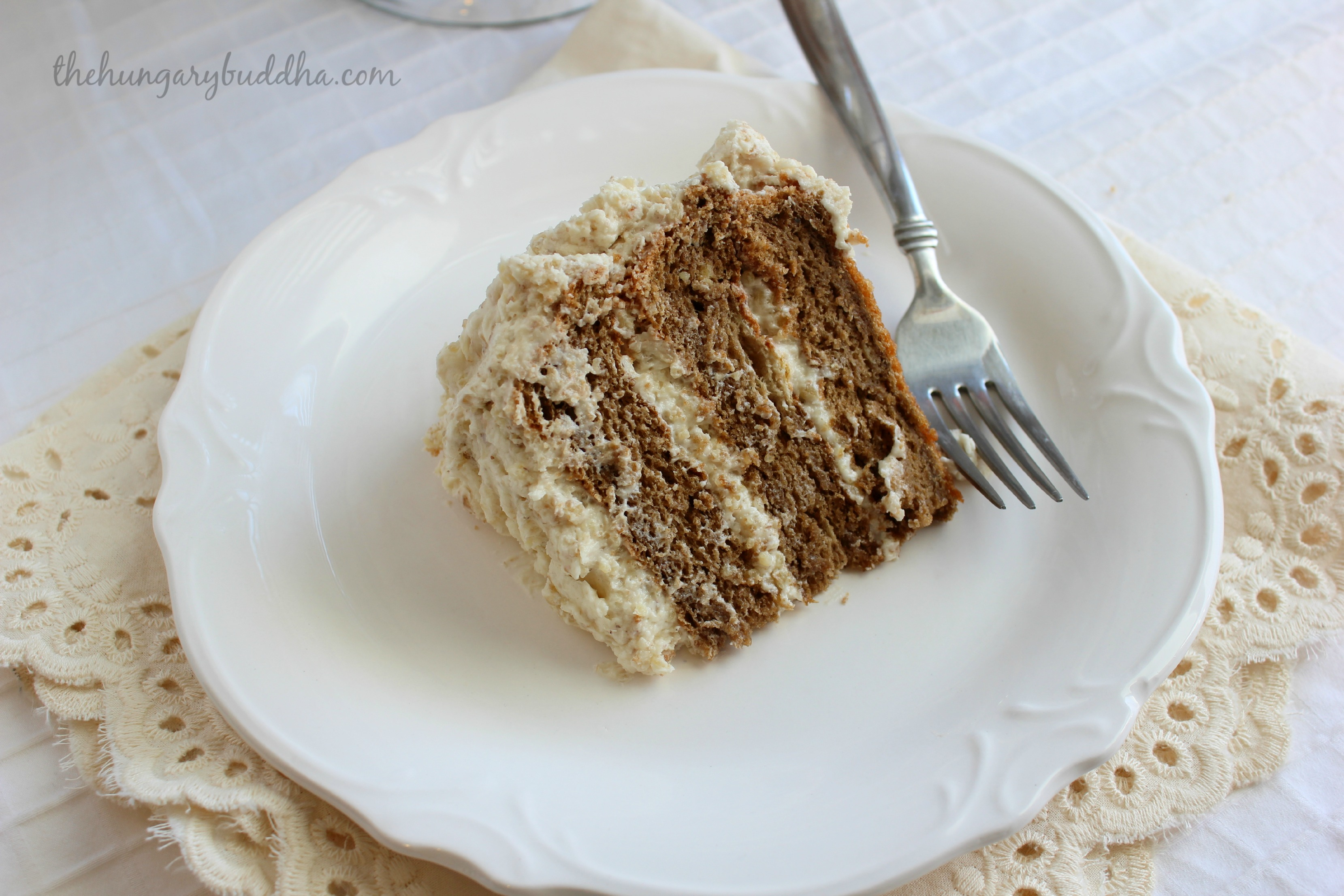 Cake Break:  Coffee Walnut Torte
