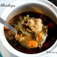 Turkey Twist:  Sopa de Albondigas, or Meatball Soup