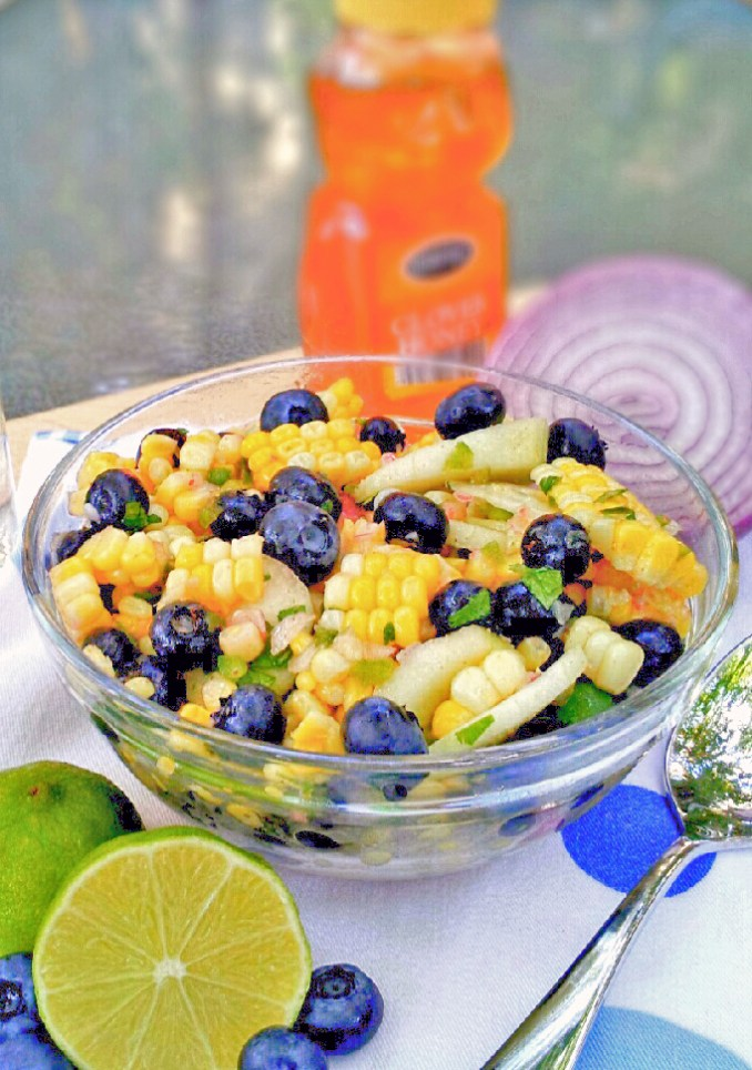 Blueberry and Corn Salad1