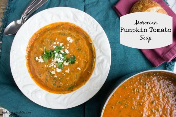 Moroccan Pumpkin Tomato Soup