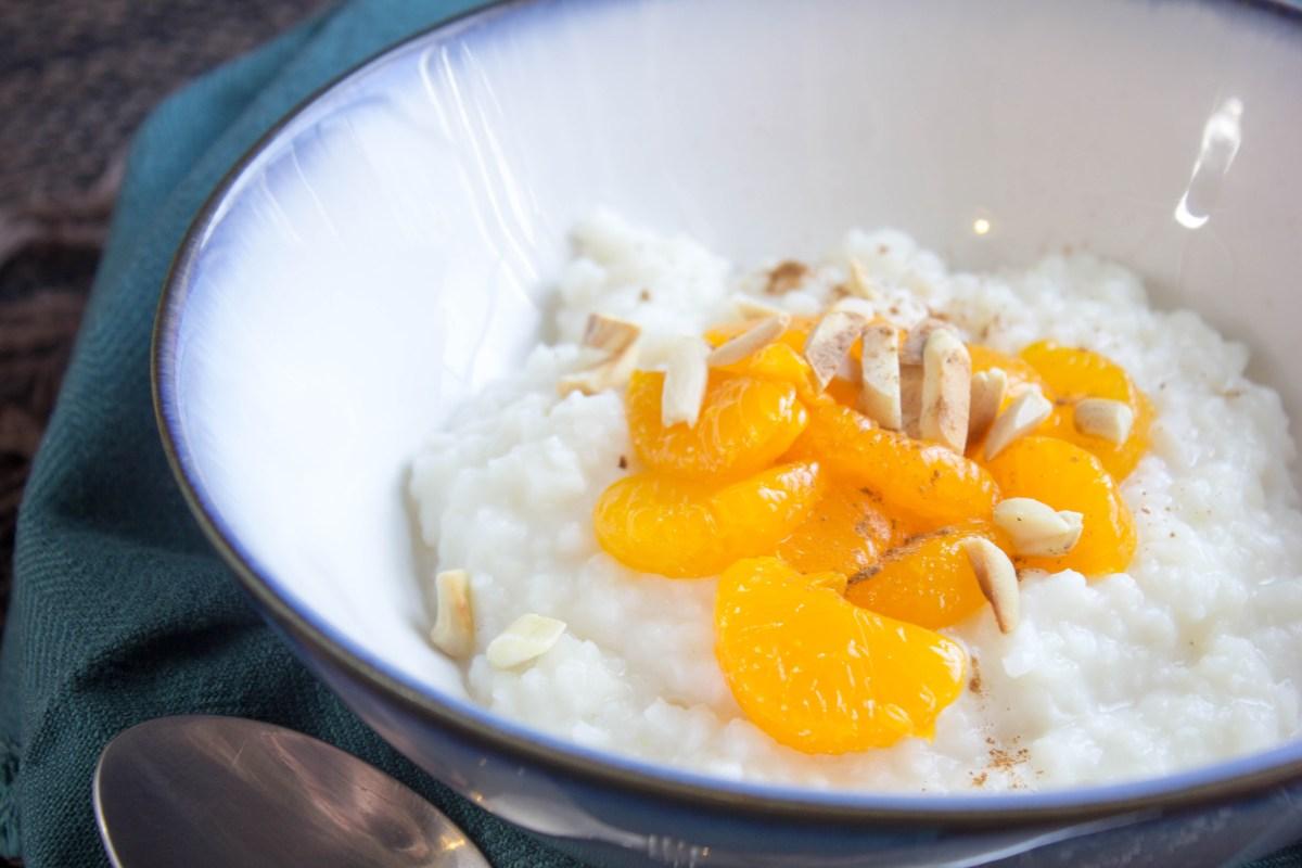 sweet slow cooker congee