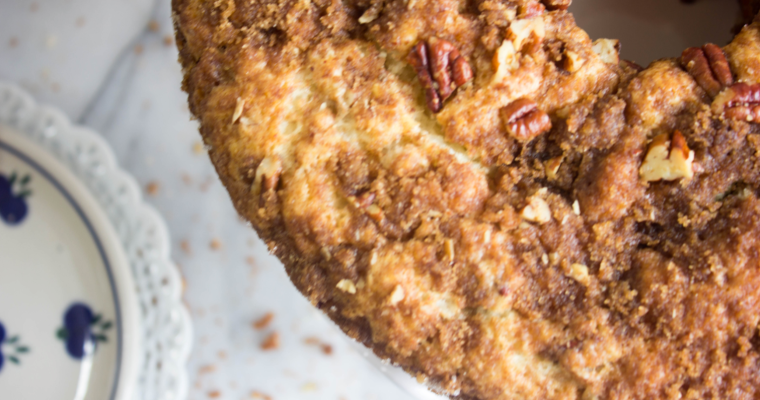 Grandma Diamond's Coffee Cake + a giveaway