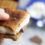 Bruleed goat cheese s'mores