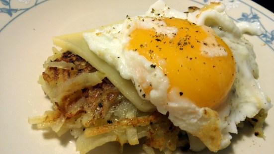egg rosti