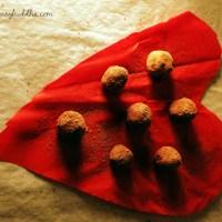 Happy Valentine's Day!: Chocolate Chai Truffles
