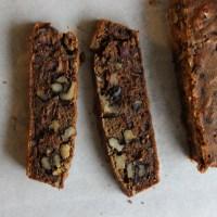 Bread Head:  Coffee-Date-Walnut Loaf